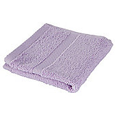 Tesco 100% Combed Cotton Face Cloth Lilac