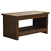 Elements Fusion Coffee Table - Walnut