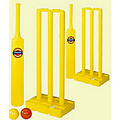 Children's Complete Cricket Set Wickets Bats and Balls