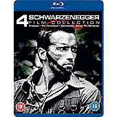 Arnold Schwarzenegger Collection - Predator/Commando/The Terminator/Conan the Barbarian - Blu-ray