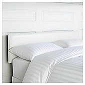 Mittal Headboard White Faux Leather Double