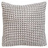 Gallery Fisherman s Knit Cushion - Natural