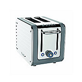 Dualit Architect 2 Slot Toaster, Grey