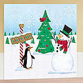 Christmas Decorations Winter Wall Mural - 12ft (each)