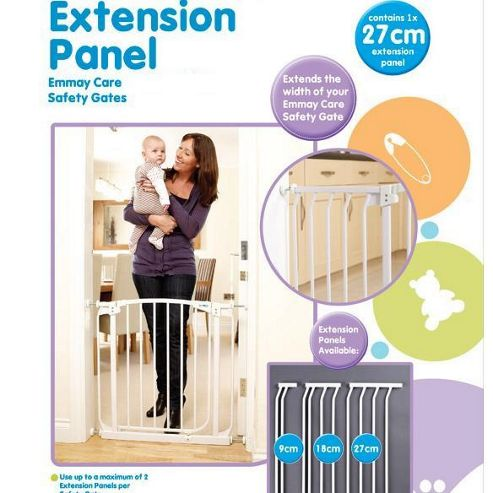 Emmay Care 27cm Extra Tall Gate Extension White