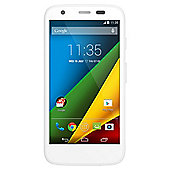 Tesco Mobile Motorola Moto G™ + 4G White
