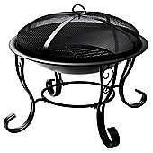 La Hacienda San Diego Firebowl in Black