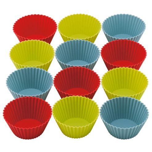 Tesco Set of 12 Large Silicone Cupcake Cases