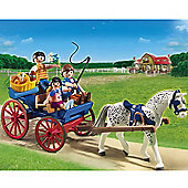 Playmobil 5226 Horse and Carriage riding trip
