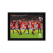 "Liverpool FC 'Legends' 18"" x 14"" Framed Photographic Print"