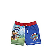 Nickelodeon Paw Patrol Swim Shorts - Blue & Multi
