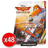 Disneys Planes Fire & Rescue Diecast Pontoon Dusty (Bulk value 48 Pack)