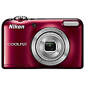 Nikon Coolpix L31 Digital Camera, Red