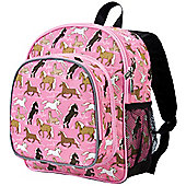Toddler Backpacks- Pink Horses