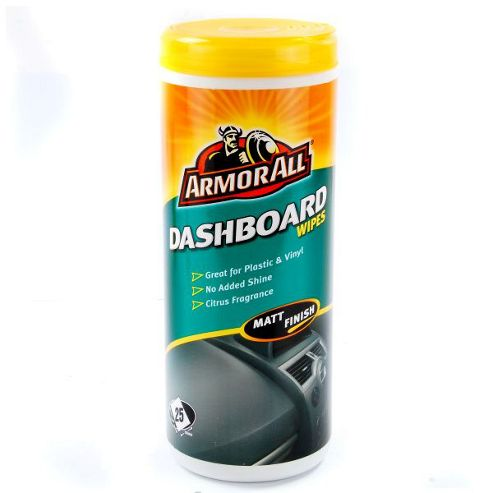 Armor All Dashboard Wipes - Matt 25 Wipes