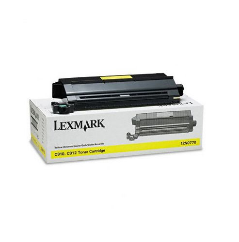Lexmark C910, C912 Yellow Toner Cartridge (14K)