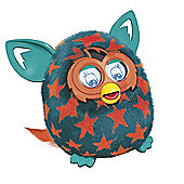 Furby Boom Interactive Soft Toy - Orange Stars