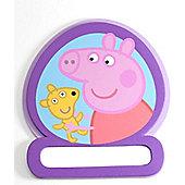 Peppa Pig Door Name Plate