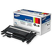 Samsung P4072B Toner Twin Pack for ML-5510ND/ML-6510ND Laser Printers - Black