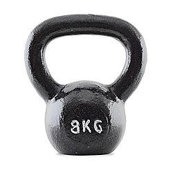 Bodymax 8kg Kettlebell Cast Iron