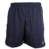 Bukta Barca Navy and White Football Shorts All Sizes Available - Multi