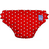 Bambino Mio Swim Nappy (Small Red Polka Dot 5-7kg)