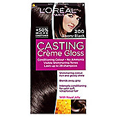 L'Oreal Paris Casting Crème Gloss200 Ebony Black