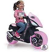 Injusa Hello Kitty Dragon Scooter - 6 Volt