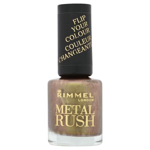 Rimmel London Metal Rush 70 Gold Save The Queen 8ml