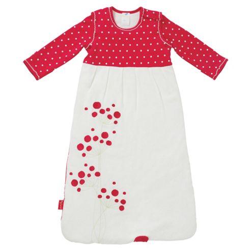 By Carla Long Sleeve Sleeping Bag, 6-18 Months, Raspberry Bloom