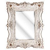 D & J Simons Montague Mirror - Ivory - 127cm H x 97cm W
