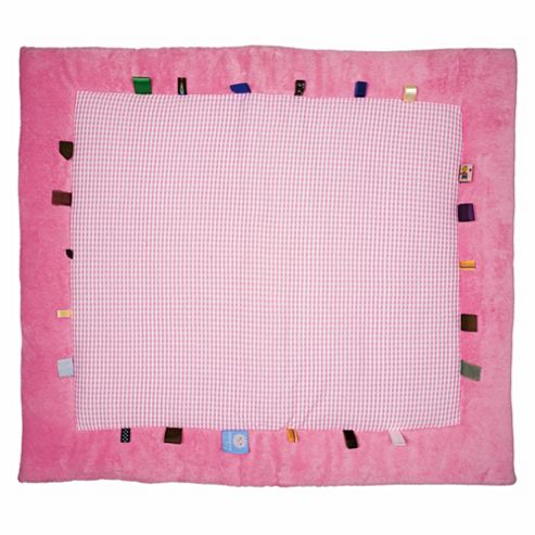 Snoozebaby Play Mat - Elephant Pink