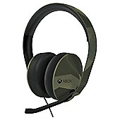 Xbox One Stereo Headset Green Camo Edition