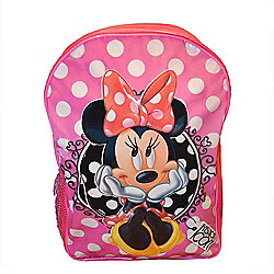Minnie Mouse Fashion Icon Large PVC Front Backpack