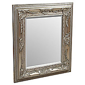 Home Essence Richard Wall Mirror - Silver