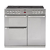 Stoves Sterling 900E 90cm Electric Range Cooker - Stainless Steel