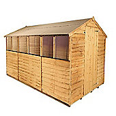 BillyOh 20 10 x 6 Rustic Overlap Apex Shed