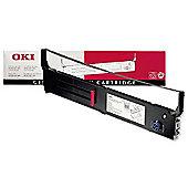 OKI 40629303 Black Nylon Ribbon for ML 4410