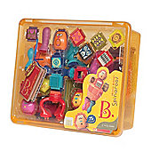 B. Toys Spinaroos Bristle Blocks In Storage Box