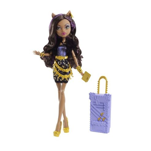 Monster High Clawdeen Wolf Deluxe Scaris Doll