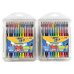 Bic Colouring Multi-pack 72 piece