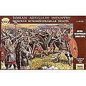ZVEZDA 8052 Roman Auxiliary Infantry I-II A.D. 1:72 Figures Model Kit
