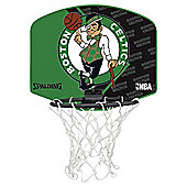 Spalding NBA Team Mini Basketball Set - Boston Celtics