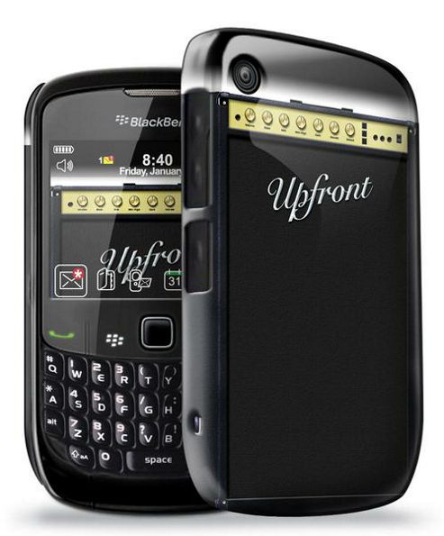 Blackberry 8520 - Official Amplifier Phone Clip Case