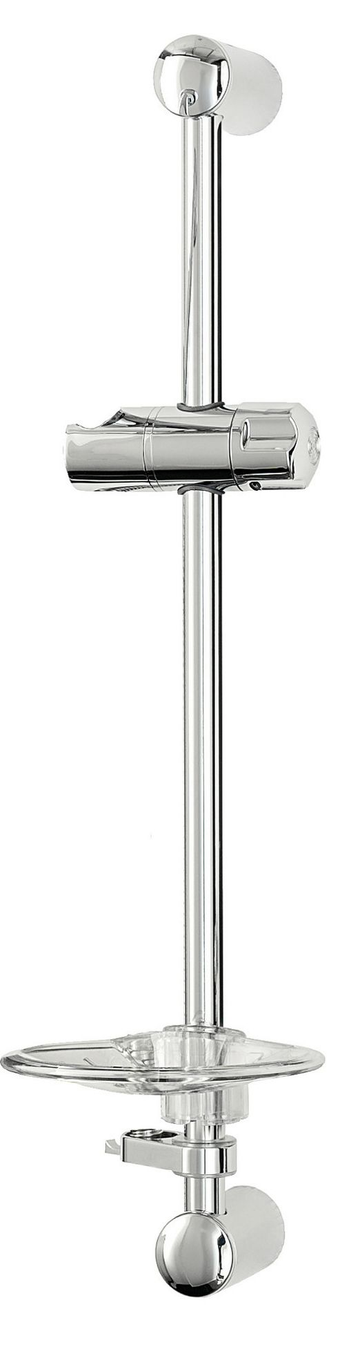 Triton Showers Aaron 1 Position Shower Kit - Chrome