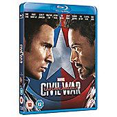 Captain America: Civil War - Captain America Sleeve Blu-Ray