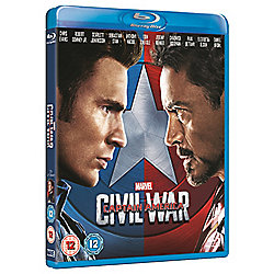 Captain America: Civil War - Captain America Sleeve Blu-Ray