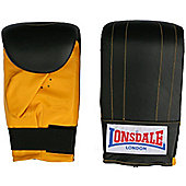 Lonsdale Black Bag Mitt - Medium (M)