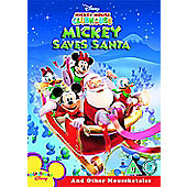Mickey Mouse Clubhouse - Mickey Saves Santa And Other Mouseketales (DVD)