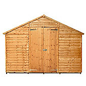 BillyOh 400 10 x 10 Windowless Overlap Workshop Shed
